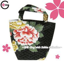 Fu-ka Japanese Brand Lady Big Penoy Black Washable Foldable Polyester Leisure Tote Luggage Shopping Handbag Travel Bag