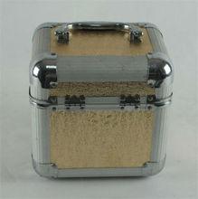Professional Golden Beauty Cosmetic Case Vanity Box Mirror, RZ-ACS102
