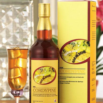 Cordypine cordyceps pineapple juice + sport supplement