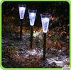 ice cream shape Plastic and stainless steel led solar light solar lamp garden