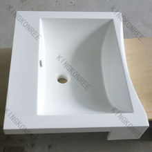 CE/SGS certificate small 100% pure acrylic solid surface wash basin,hand wash