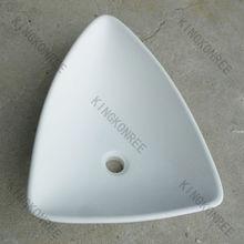 small 100% pure acrylic solid surface triple bowl wash basin,hand wash