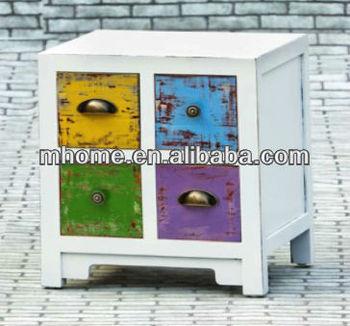 Cheap and beautiful shabby chic MDF home storage organizer