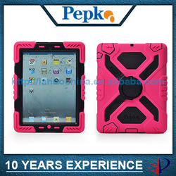 military heavy duty case for ipad 4 3 2