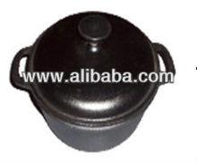 pre- seasoned cast iron casserole