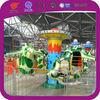 Fiberglass rotating airplane for amusement park ride