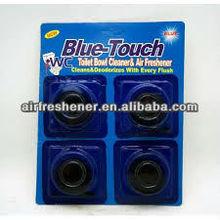 4.5-5cm doameter block long last automatic harpic toilet cleaner