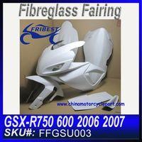 For SUZUKI GSXR 750 GSXR 600 2006 2007 Fiberglass Race FFGSU003