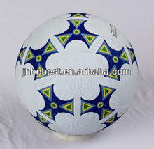 Bebest Hungriness 2014 China yiwu similar to felt ball mini rubber soccer pebble finish rubber football factory produce