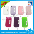 high quality mobile phone leather housing 8520 for blackberry