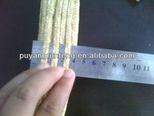 various width handmade wheat straw braids/plait/