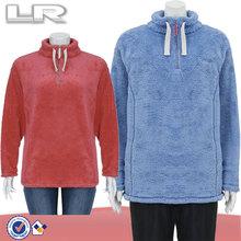 polar fleece pullover for women,fleece sweatshirt for ladies,soft shell pullover