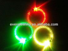 LED flash bracelets color change for Christmas/night party 2015
