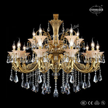 2014 new luxury gold cast aluminum chandeliers from China ETL84231