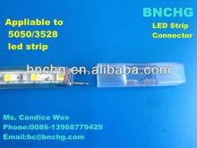 new design BNCHG B12A 3528solderless LED strip connector