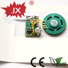 Music chips for greeting cards/waterproof music chip/greeting card chip/toy sound chip/recordable chip