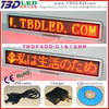 led scrolling message mini display,mini led display sign board,led mini display badge sign