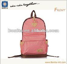 2015 Newest fashion girls backpacks Lesuir school bag Sport bag