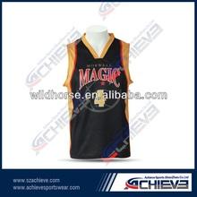high quality custom basketball jerseys/top/shirt