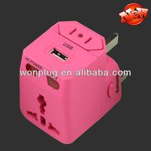 Hot sale Different Colors USB Mini Plug Adapter