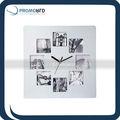 elegante relógio de parede moldura quadrada importada relógiosdeparede