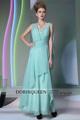 Hot vente de noël dessins robe robe de soirée bleu clair musulman. 30877