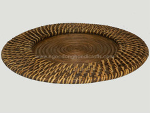 Viet Nam Rattan charger plate made by hand