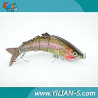 10Inch artificial bait segment fishing lures for pike fishing