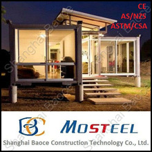 High quality well-designed modern beautiful pvc prefabricated house