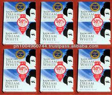 12 pcs Kojie San Dream White Collagen Kojic Acid Soap