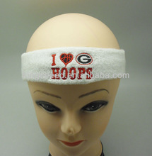 wholesale promotion headband for football and basketball playing