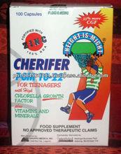 100 Capsules Cherifer PGM 10-22 with Zinc Height Vitamins