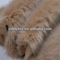 30 mm ponta corante camelo curto pilha macio acrílico poliéster imitação raposa pele do falso tecido