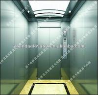 passenger elevator with elevator arrival gong