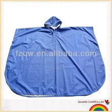 High quality polyester waterproof rain poncho