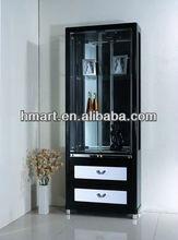 Modern Glass Display Wine Cabinet