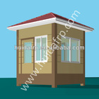 China Huida customized top quality stainless steel security guard booth prefabricated house manufacturer