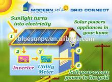 Bluesun high quality easy install solar pv sun tracker system