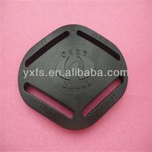 4-way web belt buckle for baby back pocket