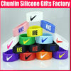 Lovely Famous Sports Debossed Silicone Wristbands for Athletes