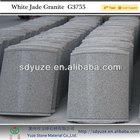 cheap natural construction stone G355White Jade Granite Slabs or Tiles or slate