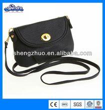 New Women's Handbag Messenger Cross Body Shoulder Bag Black