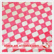 Lace top new design 2014 pink lemonade colour women blouse polyesters lace