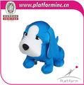 custom pelúcia disquete cão forma animal de brinquedo