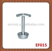 AISI304/316 mirror/satin finish stainless steel railing bar holder for stair handrail railing/pipe/tube/balustrade/baluster