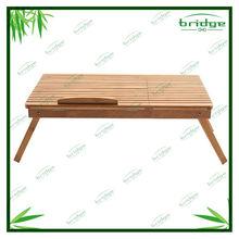 Utility folding cheap bamboo computer desk