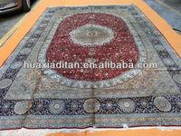 man made silk rug carpet guangdong factory china