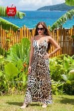 A15 2013 Hottst seller animal prints,lady prom dress