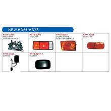 HYUNDAI NEW HD65/HD78 auto lamp and body parts