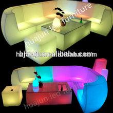 commercial bar led furniture led sofa made in plastic